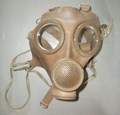 Vintage Cold War Belgian Gas Mask M-51 CBB with Filter