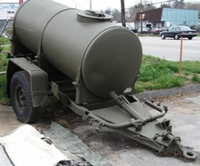 Potable Water Tank Trailer - 500 Galon