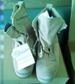 Wellco Tan Insulated Waterproof Steel Toe Combat Boots. NEW