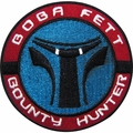 Star Wars Bounty Hunter Round Patch