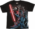 Star Wars Dark Side Around Youth T Shirt