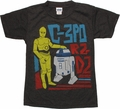 Star Wars Droid Friends Juvenile T Shirt