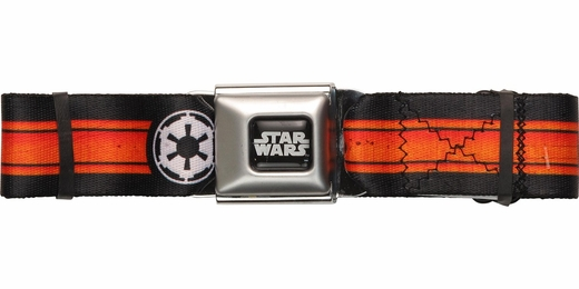 Star Wars Empire Logo Stripe Seatbelt Belt