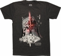 Star Wars Episode 7 First Order Army T-Shirt Sheer
