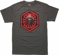 Star Wars Force Awakens First Order T-Shirt