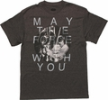 Star Wars Force Be With You Circle T Shirt