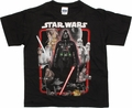 Star Wars Framed Original Black Juvenile T Shirt