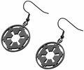 Star Wars Galactic Empire Logo Dangle Earrings