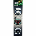 Star Wars Helmet Trio Patch Set