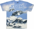 Star Wars Hoth Battle T-Shirt