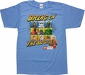 Star Wars Lego Bring On Bad Guys T Shirt Sheer