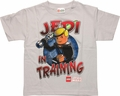 Star Wars Lego Luke Jedi Training Juvenile T Shirt