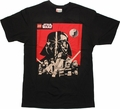Star Wars Lego Poster T Shirt Sheer