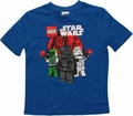 Star Wars Lego Villains Blue Juvenile T Shirt