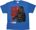 Star Wars Lego Welcome Dark Side Youth T Shirt