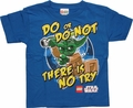 Star Wars Lego Yoda No Try Juvenile T Shirt