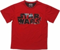 Star Wars Logo Scene Mesh Youth T Shirt
