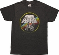 Star Wars Name X-Wing & TIE Fighter T-Shirt Sheer