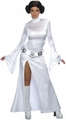 Star Wars Princess Leia Slit Dress Adult Costume
