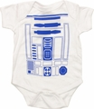 Star Wars R2D2 Costume Snap Suit