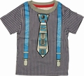 Star Wars R2D2 Tie Suspenders Toddler T Shirt