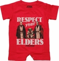 Star Wars Respect Elders Romper Snap Suit