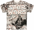 Star Wars Splatter Panel T Shirt