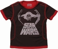Star Wars TIE x1 Over Name Mesh Juvenile T Shirt