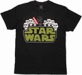 Star Wars Tiny Death Star Team Vader T Shirt Sheer