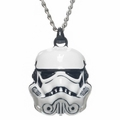 Star Wars Trooper 3D Helmet Necklace