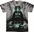Star Wars Vader Arms Crossed Tie Dye T Shirt