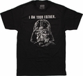 Star Wars Vader Father T-Shirt