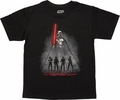 Star Wars Vader Trooper Shadows Youth T-Shirt