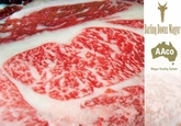 Wagyu Beef  Rib Eye Filet Steaks - Marble Score 5 - 12 (6 ozs. Each)