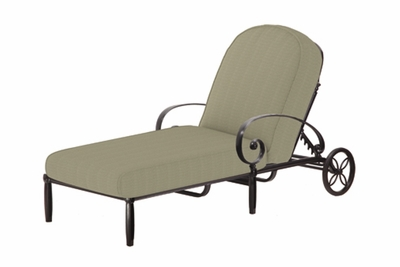 The Ballari Collection Commercial Cast Aluminum Chaise Lounge