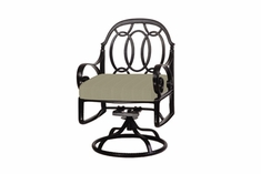 The Ballari Collection Commercial Cast Aluminum Swivel Dining Chair