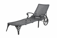 The Chaya Collection Commercial Cast Aluminum Chaise Lounge