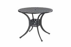 "The Claret Collection Commercial Cast Aluminum 32"" Round Dining Table"