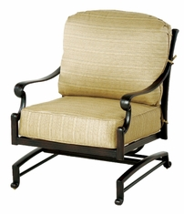 The Del Mar Collection Commercial Cast Aluminum Spring Club Chair