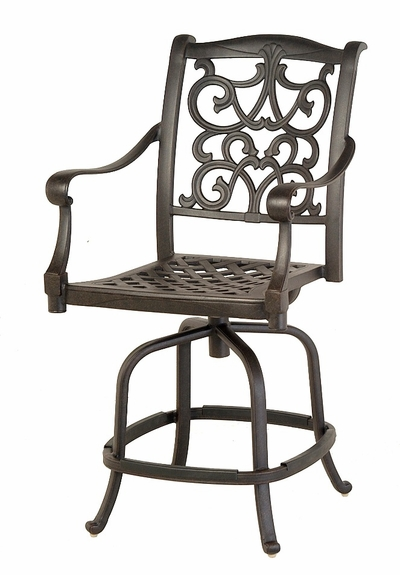 The Grayson Collection Commercial Swivel Counter Height Chair