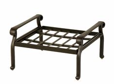 The Macyn Collection Commercial Cast Aluminum Square Ottoman