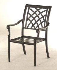 The Merisol Collection Commercial Cast Aluminum Stationary Dining Chair