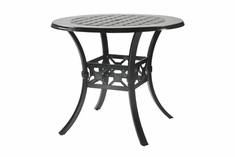"The Mimosa Collection Commercial Cast Aluminum 48"" Round Bar Height Table"
