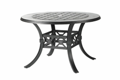 "The Mimosa Collection Commercial Cast Aluminum 54"" Round Dining Table"