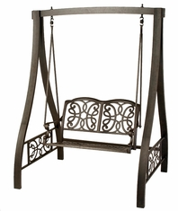 The Molina Collection Commercial Cast Aluminum Glider Swing