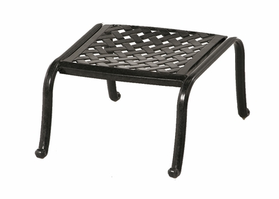 The Molina Collection Commercial Cast Aluminum Ottoman