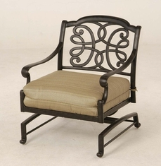 The Molina Collection Commercial Cat Aluminum Spring Base Club Chair