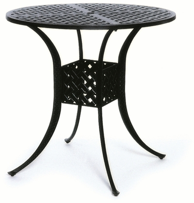 """The Nassau Collection Commercial Cast Aluminum 42"""" Round Bar Table"""