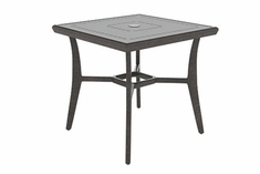 "The Paradise Collection Commercial Cast Aluminum 36"" Square Dining Table"
