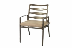 The Paradise Collection Commercial Cast Aluminum Stationary Dining Chair